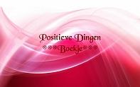 positieve dingen boekje
