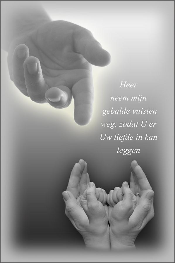 Neem Heer mijn beide handen…